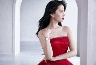 红裙刘亦菲