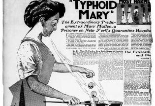 """伤寒玛丽:一百年前,让人类首次意识到存在""""无症状感染者"""""""