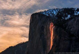 美国奇观:优胜美地火瀑布