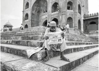 """疫情中""""鬼城"""": 镜头下的印度新德里"""