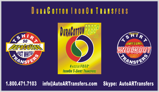DuraCotton IronON T-Shirt Transfer Papers