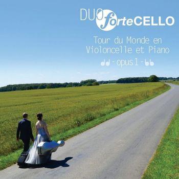 Sortie CD Tour du monde en violoncelle et piano volume 1