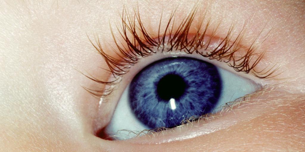 ögon ändrar färg