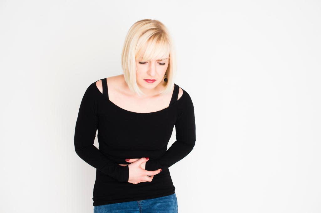 Gå upp i vikt under mens