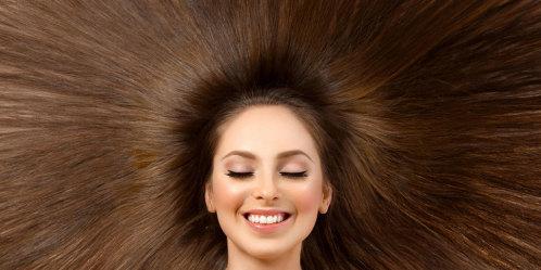 hur växer håret på huvudet