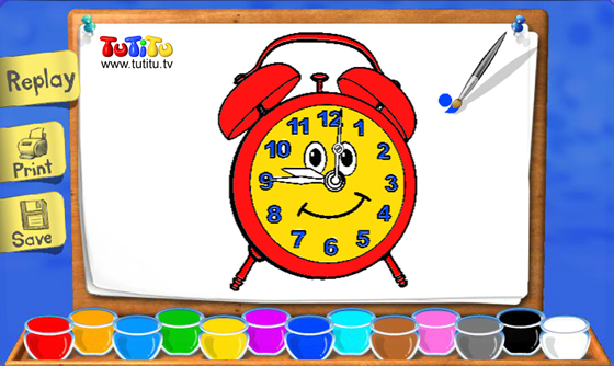 tutitu coloring pages for kids - photo#14