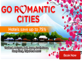 Go Romantic Cities! | Hotels Save up to 75% from AirAsiaGo