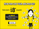 Fly to Bangkok, Hongkong, Perth and more from SGD 8 from Scoot