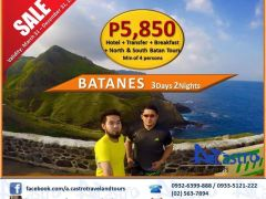 3D2N BATANES TOUR from A. Castro Travel and Tours