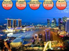 4D3N TRI CITY (SINGAPORE-MALAYSIA-INDONESIA) from Funtreats Travel and Tours
