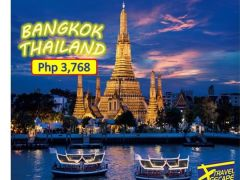 3D2N BANGKOK THAILAND LAND ARRANGEMENT ONLY from Travel Escape Travel and Tours