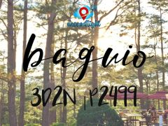 3D2N in Chalet Baguio for only PHP 2,499 (per pax) from Dream Flight Travel and Tours, Inc