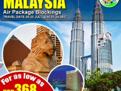 4D3N Shop in Malaysia from GRAB Travel and TOURS Corporation