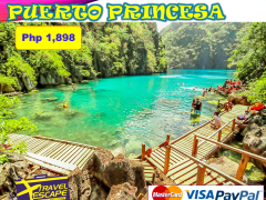 3 DAYS 2 NIGHTS PUERTO PRINCESA, PALAWAN LAND ARRANGEMENT from Travel Escape Travel and Tours