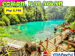3 DAYS 2 NIGHTS CORON, PALAWAN LAND ARRANGEMENT from Travel Escape Travel and Tours