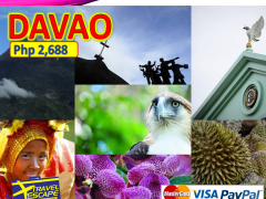 3 DAYS 2 NIGHTS DAVAO LAND ARRANGAMENT from Travel Escape Travel and Tours