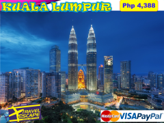 4 DAYS 3 NIGHTS KULA LUMPUR LAND ARRANGEMENT from Travel Escape Travel and Tours