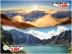 Mt. Pinatubo Trekking Group Package from DAZ Travel & Tours