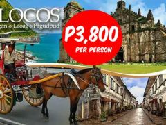 Explore 3Days/2Nights tour to Laoag-Vigan-Pagudpud with your family and friends from Tristan Tours and Travel