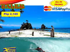 BALER ADVENTURE PACKAGE 2 DAYS 1 NIGHT ALL IN PACKAGE! from Travel Escape Travel and Tours