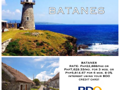 BATANES Package Tour ! from Megumi Internationale