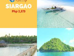 Siargao 2D1N Tour Promo from Let's Fly Travel and Tours