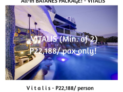 ALL IN BATANES PACKAGE! - V i t a l i s from Megumi Internationale
