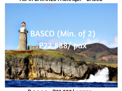 ALL-IN BATANES PACAKGE - B a s c o from Megumi Internationale