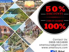 50% OFF up to 100% FREE OF CHARGE on all Land Tour Packages! from ST. MICHAEL EXPLORER TRAVEL AND TOURS