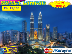 3 DAYS 2 NIGHTS KUALA LUMPUR PACKAGE from Travel Escape Travel and Tours