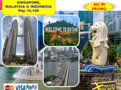 4 DAYS 3 NIGHTS SINGAPORE/MALAYSIA/INDONESIA from Travel Escape Travel and Tours