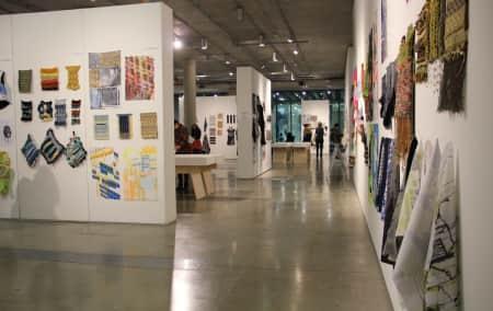 Image taken of BA Textile Design and Make Exhibition 2014