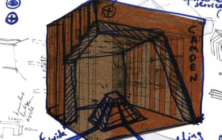 Design development sketch.