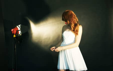 Image from students photoshoot in fashion photography (16-18 year olds) workshop
