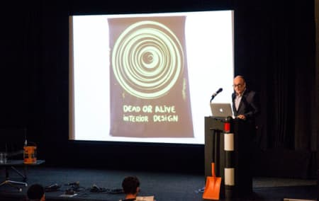 Interior Design: Dead or Alive - Ben Kelly opening the event