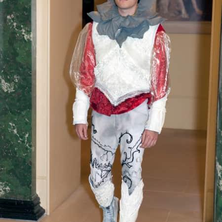 Final costume design for Richard III 'The Last Plantagenet' by Alexandra Bruce, UAL