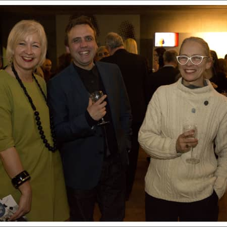 Guests at the Benefactors' Reception