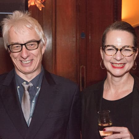 George Blacklock and Professor Frances Corner. © M Bastel 2013