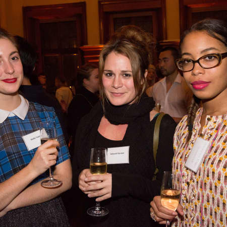 Scholars at the Benefactors' Reception. © M Bastel 2013