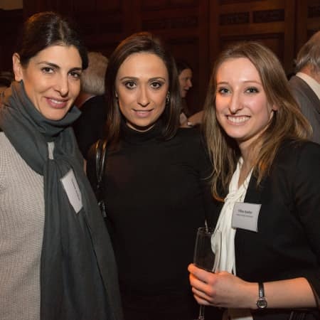 Corinne Avakian and guest with Tiffany Baehler © M Bastel 2013