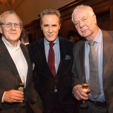 Peter York, Professor William Callaway and guest © M Bastel 2013