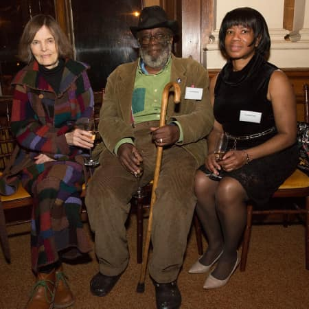 Rachel Scott, Frank Bowling and Novelette Ellis © M Bastel 2013