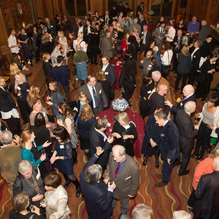 Guests in the Banqueting Hall © M Bastel 2013