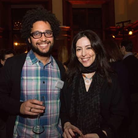 Nina Mahdavi and Bisan Abu-Eisheh © M Bastel 2013