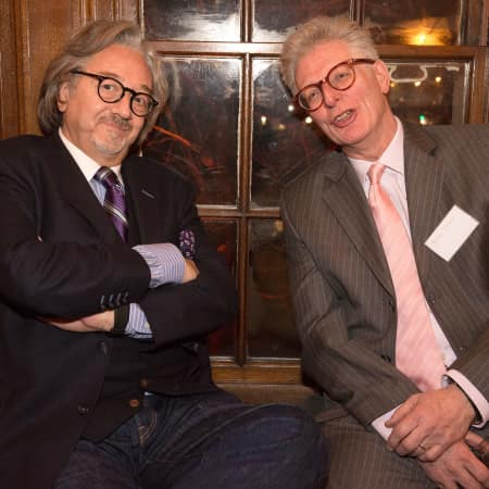 Rob Dickins and Peter Towse © M Bastel 2013