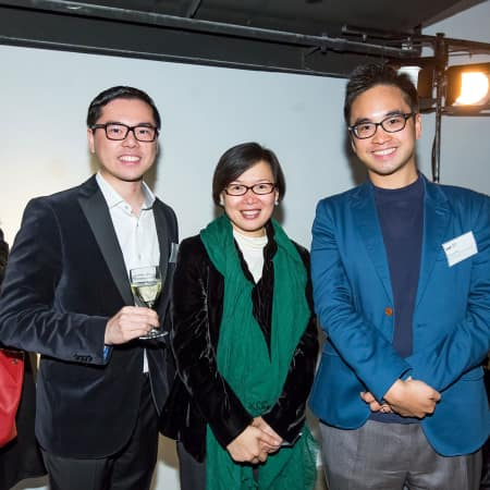 Adrian Cheng and guests at the HK Alumni and Friends Reception 2013