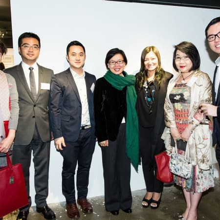 Guests at the HK Alumni and Friends Reception 2013