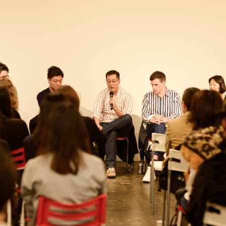 Panel discussion at the Japan Panel 2016.
