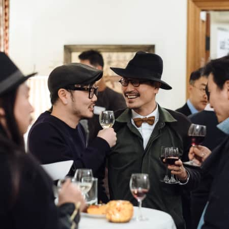 Image of guests at UAL alumni event in Seoul, Korea