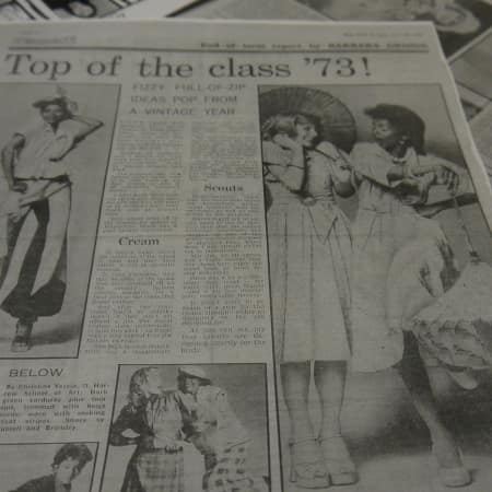 Press cuttings from 1973